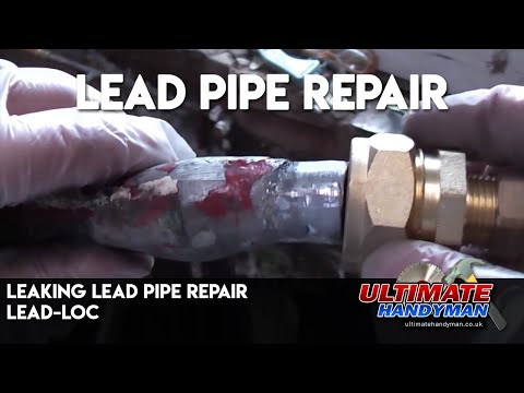 Leaking lead pipe repair | Lead-Loc