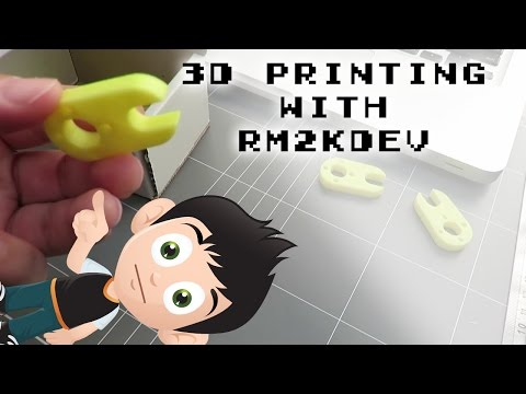 Z-Wobble Bracket Improve Print Quality - 3D Printing With Rm2kdev #3