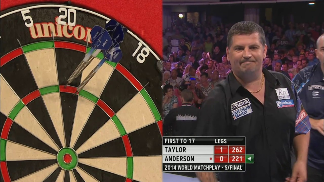 A WINTER GARDENS CLASSIC! | Taylor v Anderson | 2014 World Matchplay