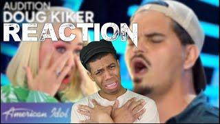 Garbage Man Doug Kiker CHARMS the Judges - American Idol 2020 Reaction!!!