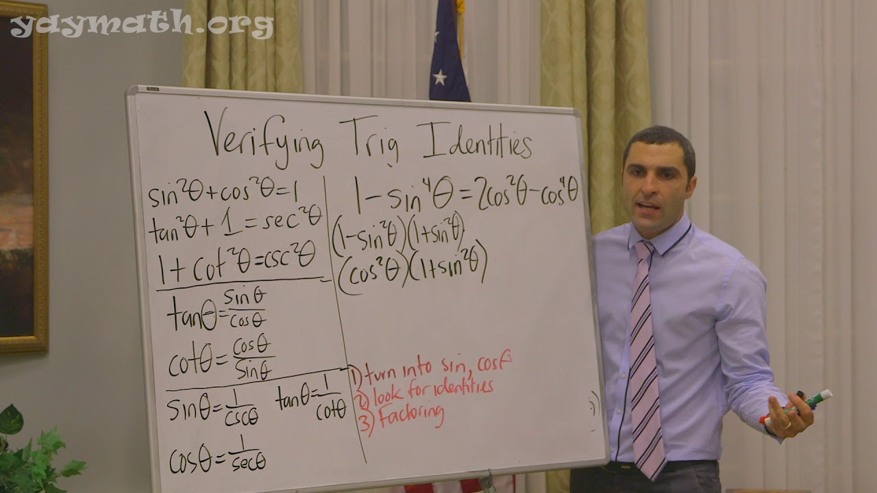 Trigonometry – Verifying Trigonometric Identities - YouTube