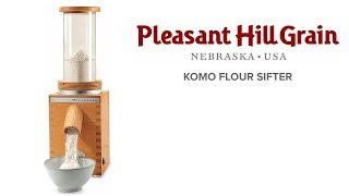 KoMo Flour Sifter Demo