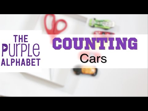 Preschool Counting Activities with Cars