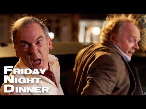 """PASS ME THE PINEAPPLE!!!""   Friday Night Dinner"