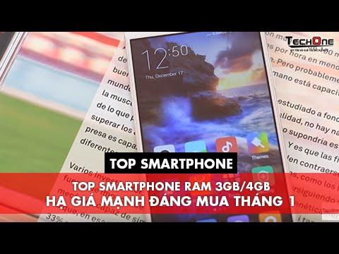 TOP SMARTPHONE RAM 3GB/4GB HẠ GIÁ MẠNH ĐÁNG MUA THÁNG 1