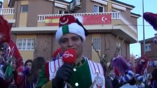 İSPANYA'DA MÜSLÜMAN-HIRİSTİYAN FESTİVALİ Video