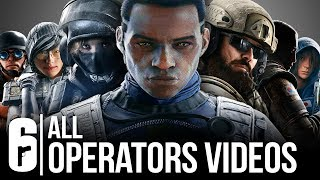 Download Rainbow Six Seige - ALL OPERATOR VIDEOS SO FAR (YEAR 4, YEAR 3, YEAR 2, AND YEAR 1) Mp3 and Videos