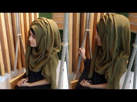 Easy Hijab Tutorial    Noshin Nower