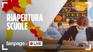 Coronavirus, riapertura scuole e cambio colore regioni: quali potrebbero uscire dalla zona rossa