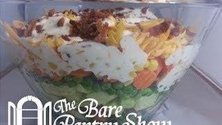 Nine Layer Salad