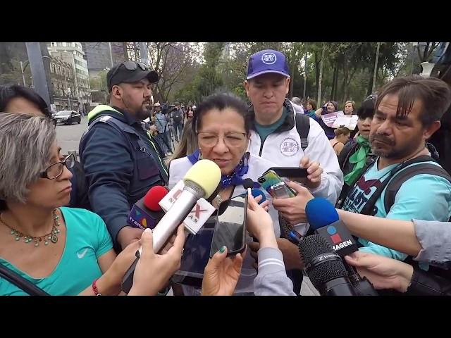 Entrevista a la Presidenta de #CDHCM, Nashieli Ramírez, en la Cadena Feminista