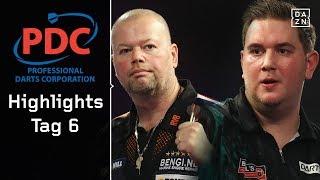 Münch-Spektakel und gnadenloser Raymond van Barneveld | Highlights | PDC Darts WM 2018 | DAZN
