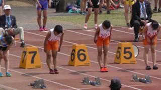 20170416春季記録会(桐生会場)女子100m8組
