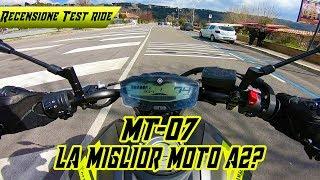 Recensione - Test Ride | Mt-07 2018 - NON STA GIU!!!