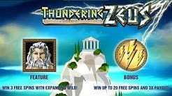 Thundering Zeus Slot Machine Game Bonus & Free Spins - Amaya Slots