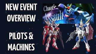 Gunpla Warfare - 「Chaotic Assault」 Event Update! Gunpla and Pilot Discussion