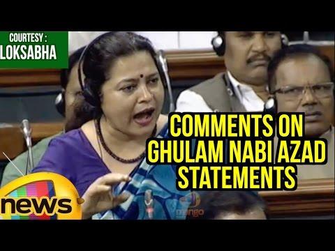Meenakshi Lekhi Comments On Ghulam Nabi Azad Statements In Rajya Sabha | Lok Sabha | Mango News