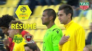 FC Nantes - OGC Nice ( 1-2 ) - Résumé - (FCN - OGCN) / 2018-19