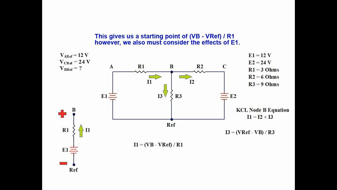 Simple Nodes Solve Series Circuits - Schematics Wiring Diagrams •