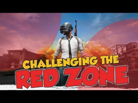 CHALLENGING THE RED ZONE - Battlegrounds Funny Moments