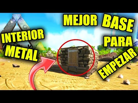 ARK BASE BARATA LA MEJOR PARA EMPEZAR? | CHEAP, STARTER, ARK PVP BUILDING, tips, trucos, tricks