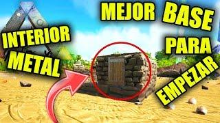 ARK BASE BARATA LA MEJOR PARA EMPEZAR? | CHEAP, STARTER, ARK PVP BUILDING, tips, trucos, tricks