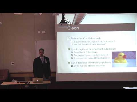 Writing for Peer Review - August 2013 Research Grand Rounds