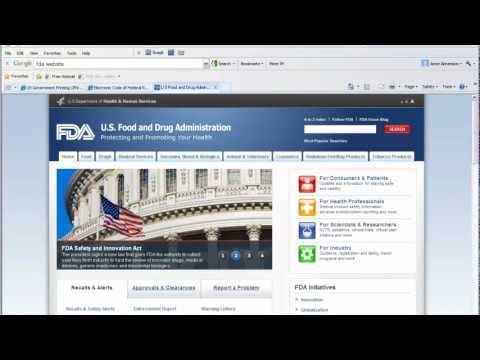 How To Use U.S. Government Agency Websites to Research Federal Regulations