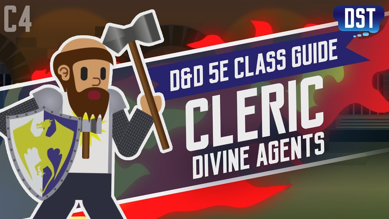 D&D 5e Cleric Class Guide ~ Excuse Me, Do You Have a Moment to Talk About
