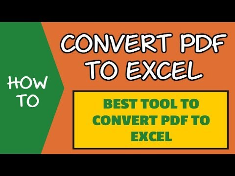 Extract Data From PDF to Excel with this Converter (FREE TRIAL)