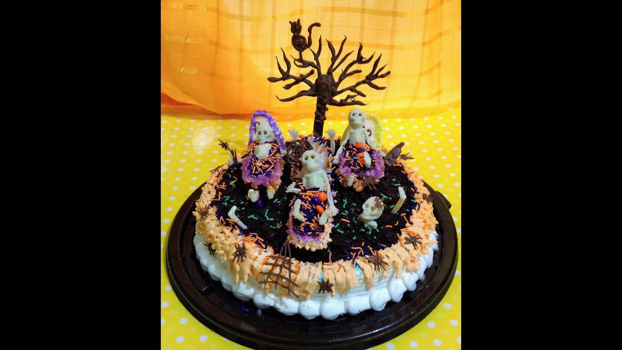 diy decora pastel torta da de muertos halloween cake youtube - Halloween Dia