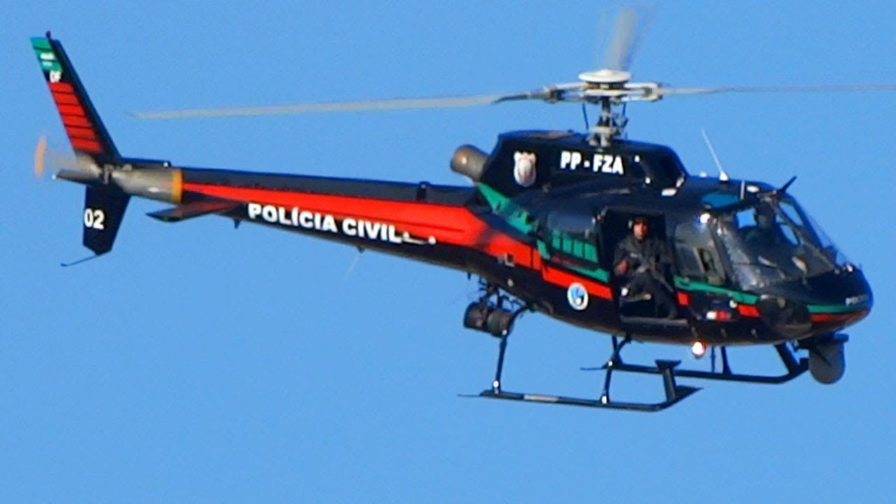 Helicopter • Military Police of the Federal District, Brazil