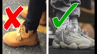 5 YEEZY RULES EVERY GUY SHOULD FOLLOW!