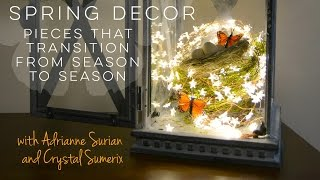 How To Use Winter Pieces In Your Spring Decor