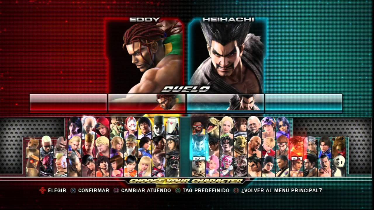 Tekken Tag Tournament 2 Choose Your Character