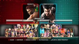 Download Video Tekken Tag Tournament 2: Choose Your Character. MP3 3GP MP4