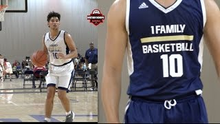 1Family 16u PG Marcus Purcell is a PLAYMAKER - Session 2 Highlights!
