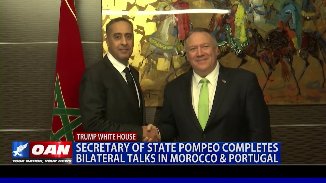 Pompeo completes bilateral talks in Morocco & Portugal - OAN