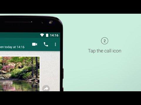 WhatsApp FAQ - Making voice calls