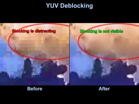 Deblocking technology for MPEG-2, MPEG-4