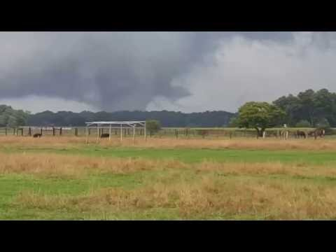 EF3 Tornado -  Part 1 Fort Wayne, Indiana 8/24/2016