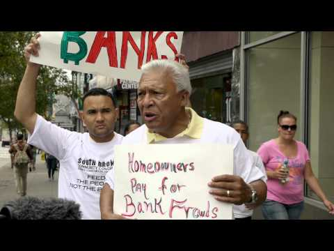 Bronx Rally against Bank of America Foreclosure