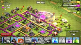 Clash Of Clans - 1 Of Every Troop & Spell Attack - 2014
