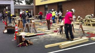 Trades Day Carpentry Competition