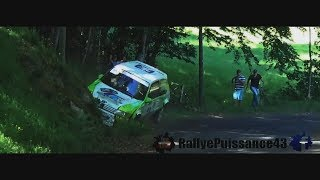 Best-Of Rallye Crash, Mistakes, Limits Jump & Big Flat out 2017 [FULL HD]