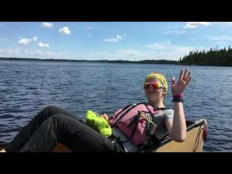 Day 3 37kms Wabakimi Paddle Center of the Universe