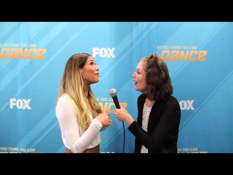 Allison Holker Interview at So You Think You Can Dance Top 8 Show 8/24/15