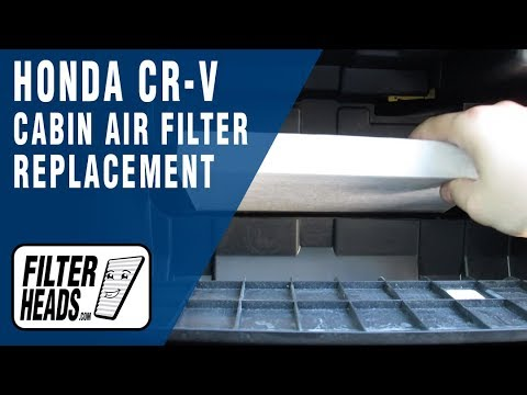 How to Replace Cabin Air Filter 2016 Honda CR-V