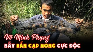 Chap 16: Vo Minh Phung catch the snakebanded krait (Bungarus fasciatus)