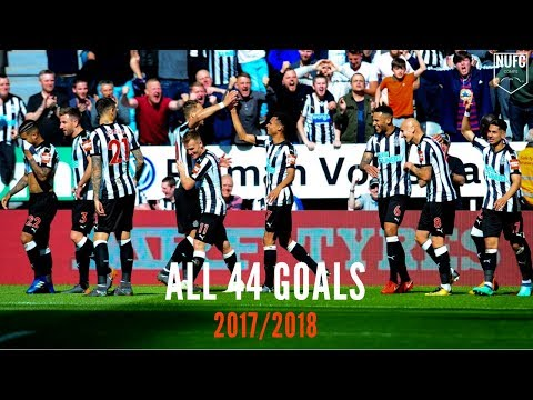 Newcastle United | All 44 Goals 17/18